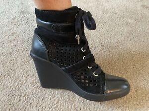 priscilla presley estate sale, comes with LOA! Michael Kors wedge tennis shoe