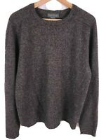Daniel Cremieux Signature Collection 100% Cashmere Men's Medium Gray Sweater