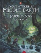 Adventures In Middle Earth  Mirkwood Campaign  NEW Cubicle 7 DnD 5 th Ed.