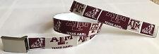 Texas A&M University BELT NCAA Fan Game Gear Alumni College Team TX Reveille