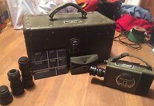 BELL & HOWELL / Korean War / Vietnam War Motion Picture Camera / Highest Quality