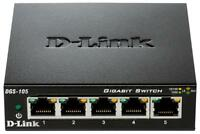 Switch 5 Port Gigabit Ethernet - Dgs-105