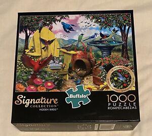 """Buffalo Games Signature Collection """"Hidden Birds"""" 1000 Piece Puzzle"""