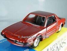 FIAT X1/9 CAR MODEL 1/43RD SCALE 2DR BROWN COLOUR SCHEME EXAMPLE BXD T3412Z(=)