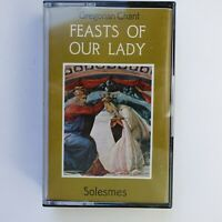 Gregorian Chant Feast of The Lady (Cassette)