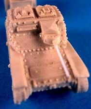 Milicast BIT3 1/76 Resin WWII Italian L3/CV35 Tankette with 20mm Solothurn ATG