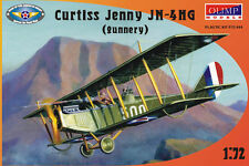 Avion d'entrainement au tir CURTISS JENNY JN-4HG - Kit OLIMP MODELS 1/72 n°72004