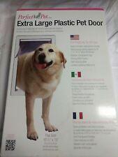 """Perfect Pet Extra Large Pet Door  with flap 10 1/2"""" x 15"""""""