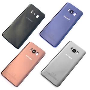 100% Genuine Samsung Galaxy S8 plus G955 back cover+camera glass rear battery