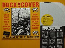 DUCK AND COVER - Vinyl LP Hüsker Dü Black Flag Dinosaur Jr. Descendents The Last
