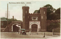 Enterance Antrim Castle, Antrim N.Ireland Real Photo Postcard Unposted.