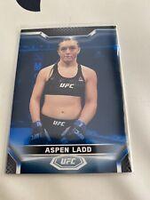 2020 Topps UFC Knockout Aspen Ladd Blue Wave SP 53/75