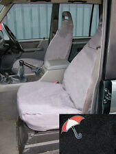 LAND ROVER DISCOVERY 1 89-98 FRONT SEAT WATERPROOF SEAT COVERS SET DA2807BLACK