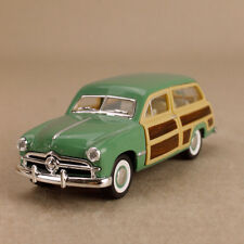 1949 Ford Woody Wagon Vintage Green Car 1:40 Scale 12cm Die-Cast Pull-Back OLP