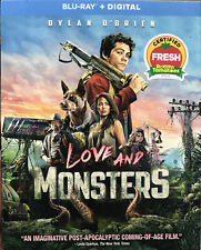 Love and Monsters (Blu-ray + Digital) - NEW with slipcase