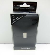 NEW Canon Deluxe Leather Case PSC-1050 for Powershot SD1400 IS SD780 SD940IS