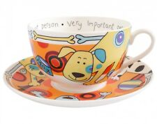 Royal Worcester Very Important Person Spotty Dogs Breakfast Cup & Saucer  - VIP