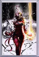 CAPTAIN MARVEL #8 (CARNAGE-IZED VIRGIN VARIANT) COMIC BOOK ~ Marvel Comics