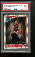 2018 Panini Optic Shock #199 Gary Trent Jr. Blazers Rated Rookie Card RC PSA 9