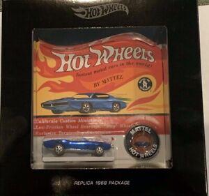 Hot Wheels RLC Original 16 Replica Custom Firebird Spectraflame Blue