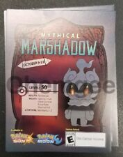 Pokemon Sun and Moon Marshadow Code Card For Nintendo 3DS & 2DS GameStop Promo!