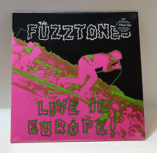 "FUZZTONES Live In Europe! VINYL LP + 7"" 45rpm Single Sealed GET BACK RECORDS"