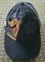 Warner Brothers World Gold Coast Scooby Doo Embroidered Blue & Black Cap Hat