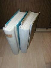 Sammlung CSSR Tschechoslowakei R-ZETTEL + STEMPEL auf 400 Seiten 2 Bände (90081)