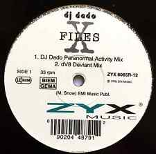 "DJ DADO - X Files (12"") (G+/G+)"