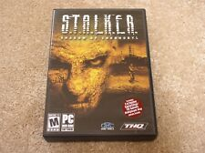 PC DVD-ROM S.T.A.L.K.E.R. Stalker: Shadow of Chernobyl video game