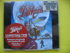 THE DARKNESS-CHRISTMAS TIME. 2 TRACK CD SINGLE. FESTIVE ROCK. EX CON