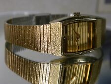 Women's Seiko Triple Gold Water Resistant Maritime Motif Watch. 2 Year Warranty