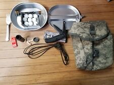 Military Heavy Duty 2 Piece  Camp Cook Mess Kit Pan with extras!!!!