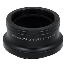 Fotodiox Pro Lens Mount Adapter, M42 Screw Mount Lens to Sony NEX E-mount Mirror