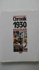 Chronik 1930 - Tag für Tag in Wort und Bild - Chronik Verlag