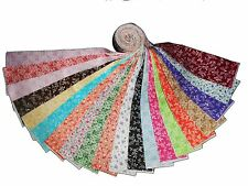 "20 2.5"" Antique Calico Reproductions Jelly Roll /NEW  20 different colors !!!"