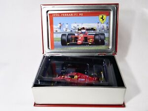 Mattel Hot Wheels La Storia SF06/90 Ferrari 641 F1 190 Gp France 1990 New 1/43