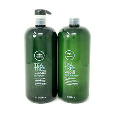 NEW [ PAUL MITCHELL ] Tea Tree Hair Special Conditioner & Shampoo 33.8oz SET