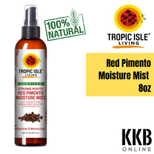 Strong Roots Red Pimento Hair Growth Oil With Pure Jamaican Black Castor Oil 8oz