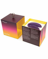 We-Vibe 4 Sync With App Passionate Vibe Bullet Rechargeable Couples Sex Toy Kits Purple