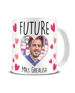 Future Mrs Grealish Mug Funny Jack Grealish Coffee Mug For Her CHRISTMAS Gift