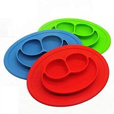 Baby Silicone Plate Placemat Non-Slip, Non-Spil Non-Toxic, BPA Free, PERFECTIOUS