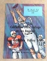 SAN FERNANDO VALLEY @ CALIFORNIA ST. AT L.A. COLLEGE FOOTBALL PROGRAM - 1965 - E