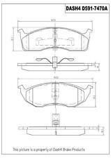 Disc Brake Pad Set-Metallic Pads Front Pronto PMD591