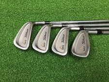 NICE Titleist Golf DCI OVERSIZE + Partial Iron Set 4 5 6 9 Right RH Steel STIFF