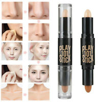 Highlight  Makeup Natural Cream Face Eye Foundation Concealer Contour Pen Stick
