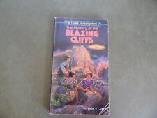 The Three Investigators: Mystery of the Blazing Cliffs by M.V. Carey; PB 1981