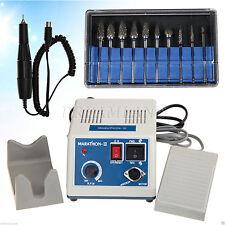 Dental Lab Marathon Micromotor micromotore + 35K RPM Handpiece + HP 2.35 Burs IT