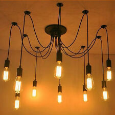 10 Head Vintage Edison Style Industrial Retro Ceiling Lights Chandelier DIY Lamp