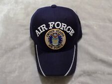 Navy Air Force Baseball Hat Adjustable Cap Patch Logo Eagle Stars Military NEW!